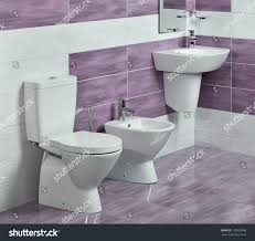 Modern Bathroom Toilets by Detail Modern Bathroom Sink Toilet Bidet Stock Photo 178930988