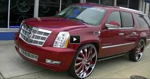 Muscle Car Rims - cady escalade on 32 inch forgiato inferno rims muscle cars zone