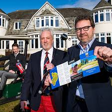 how did the scottish men plait and club their hair support teed up for junior ryder cup venue blairgowrie golf club