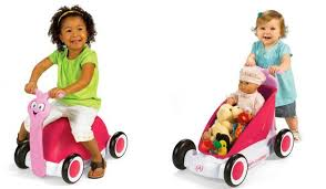 amazon black friday red flyer tricylce amazon radio flyer 3 in 1 walker wagon pink only 27 78 reg