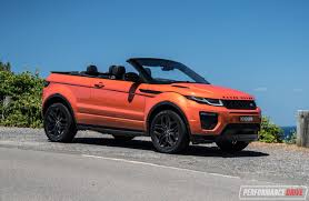 range rover convertible range rover evoque convertible si4 review video performancedrive