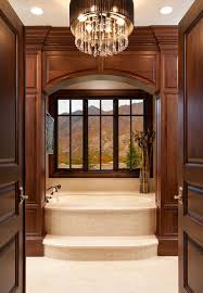 framed to perfection 15 bathrooms with majestic mountain views view in gallery a touch of extravagance for the traditional bathroom design think architecture