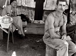 depression era unlikely pinups depression era portrait of a working class couple