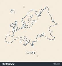 Europe Outline Map by Blank Map Of Europe Vector Vector Free Printable Images World Maps