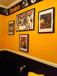 Pittsburgh Steelers Bathroom Set Pittsburgh Steelers Wall Border In Black Yellow U0026 White Gimme