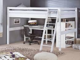 chambre ado lit 2 places lit lit blanc laqué élégant charmant chambre avec lit mezzanine 2