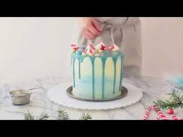 winter wonderland cake youtube