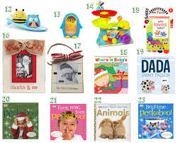 23 gift ideas for baby u0027s first christmas camp makery