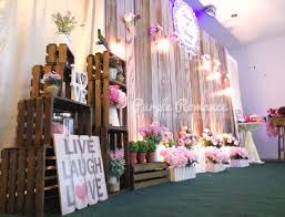 wedding backdrop design malaysia wooden rustic photo booth backdrop at dynasty seafood