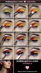 pretty halloween eye makeup 25 best carnival makeup ideas on pinterest colorful makeup