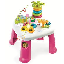 table d eveil avec siege smoby table d activités cotoons smoby toys r us
