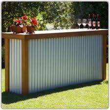 portable patio bar foter