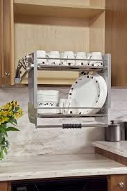 unique kitchen storage ideas fancy and unique plate holder inside cabinet with attractive