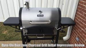 Master Forge Patio Barrel Charcoal Grill by Dyna Glo Dual Zone Charcoal Grill First Impressions Review Youtube