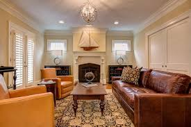 Small Traditional Sofas How To Design A Living Room With Brown Leather Sofa Home Decor Help