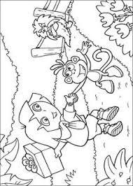 dora explorer coloring pages free dora coloring pages