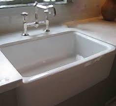 Kitchen Sink Install How To Install Farmhouse Kitchen Sinks Hunker