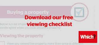 house viewing checklist which