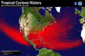 Indiana Road Conditions Map History Of Tropical Cyclone Remnants For Central Indiana