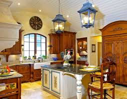 french country kitchen decorating with painted island french country kitchen decorating with painted island decolover net