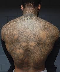 chris brown leg tattoo chandler