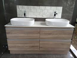 floorstanding vanity 1500 double basin e027 1500gbb eco bathroom
