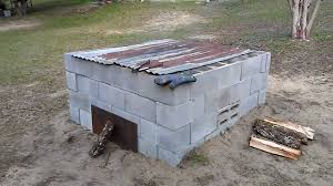 Concrete Block Building Plans How To Build A Cinder Block Smoker Youtube