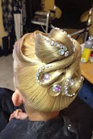 hair styles with rhinestones ballroom hair with rhinestones mainly used for standard this