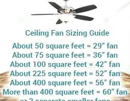 ceiling fan width for room size ceiling fan size guide for room americanwarmoms org