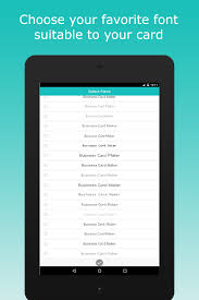 App To Scan Business Cards Business Card Maker Android Apps On Google Play