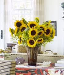 sunflower arrangements ideas 55 pretty flower arrangements to cheer up any room sunflowers