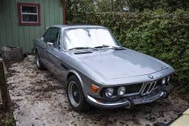 bmw e9 coupe for sale 5 speed project 1974 bmw 3 0csi bring a trailer