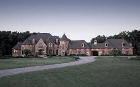 french country mansion french country estate vanbrouck associates