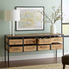 console table with wine storage wine storage console table console tables ideas