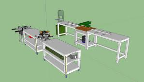rolling work table plans workbench plans tommy s rolling workbench and miter saw station