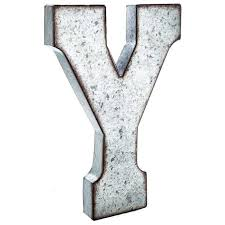 metal letters wall decor wall metal letter galvanized y large galvanized metal letter y ask y