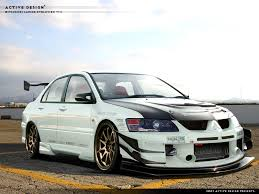 mitsubishi modified wallpaper lancer evo 8