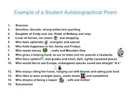 resume for student teachers exles of autobiographies pin by jenn hays on teaching poetry pinterest