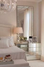 bedroom design mirrored nightstin neutral bedroom mirrored
