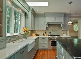 Gray Painted Kitchen Cabinets by Painted Wood Cabinets Yeo Lab Com