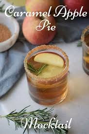 caramel apple pie mocktail merry about town