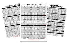 the p90x workout schedule pdf classic lean u0026 doubles