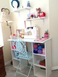 Small Craft Desk I All Things Diy Small Craft Table Desk