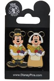 thanksgiving pins disney parks pin 42557 mickey minnie mouse pilgrims
