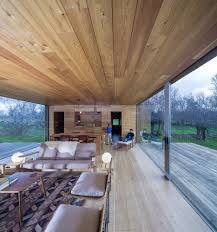 Mountain Cabin Decor Cozy Mountain Cabin Can Open Up To The Elements 27 Design With