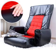 Colorful Chairs For Living Room Leather Furniture Arm Chair Living Room 4 Colors Floor Foldable