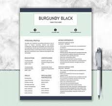 nurse resume template for word doctor resume by prographicdesign