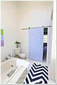 Sliding Bathroom Door by Astounding Bathroom Door Ideas Ideas For Small Spaces Black Rail