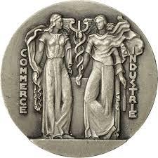 chambre commerce lille 551141 medal chambre de commerce de lille coin ms 60