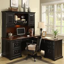 Mainstays L Shaped Desk With Hutch Multiple Finishes by Riverside Furniture Bridgeport 2 Piece L Shape Desk Office Suite